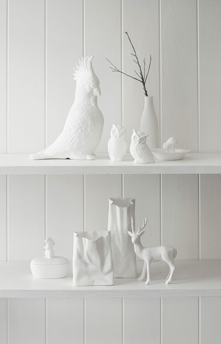 White Ceramics from $15 available from Morrison