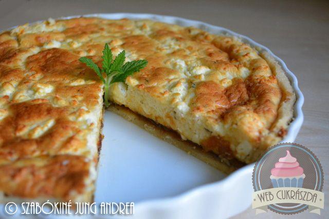 Feta sajtos hagymás pite