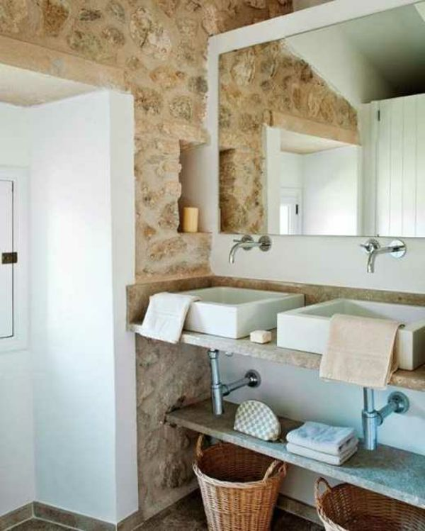 Die besten 25+ Mediterrane badezimmer spiegel Ideen auf Pinterest - modernes badezimmer designer badspiegel
