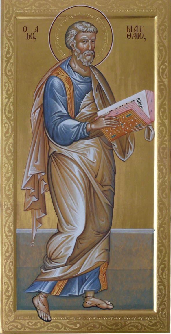 San Matteo evangelista per mano di Luisanna Garau (Italy)