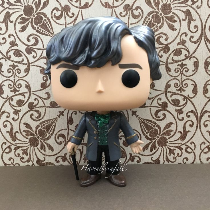 Custom Funko Pop! of Jem Carstairs from Shadowhunters TV Show and featured on my Instagram Shadowhunters scenes (@haventhornfalls).  Jem Carstairs from the Infernal Devices.  Gunmetal Silver Hair with Signature Outfit    Figures are made to order. Please allow up to 7-14 days before item ships. No custom boxes are available at this time. Item will ship in a stock/generic Funko Pop box with Shadowhunters Logo and images overlaying relevant areas. Item is intended for display purposes only…