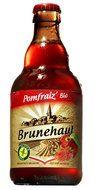 Brasserie de Brunehaut - glutenvrij Pomfraiz Bio bier. Brasserie de Brunehaut Pomfraiz Bio is een biologisch fruit bier van hoge gisting. Alcoholpercentage 5,5%.