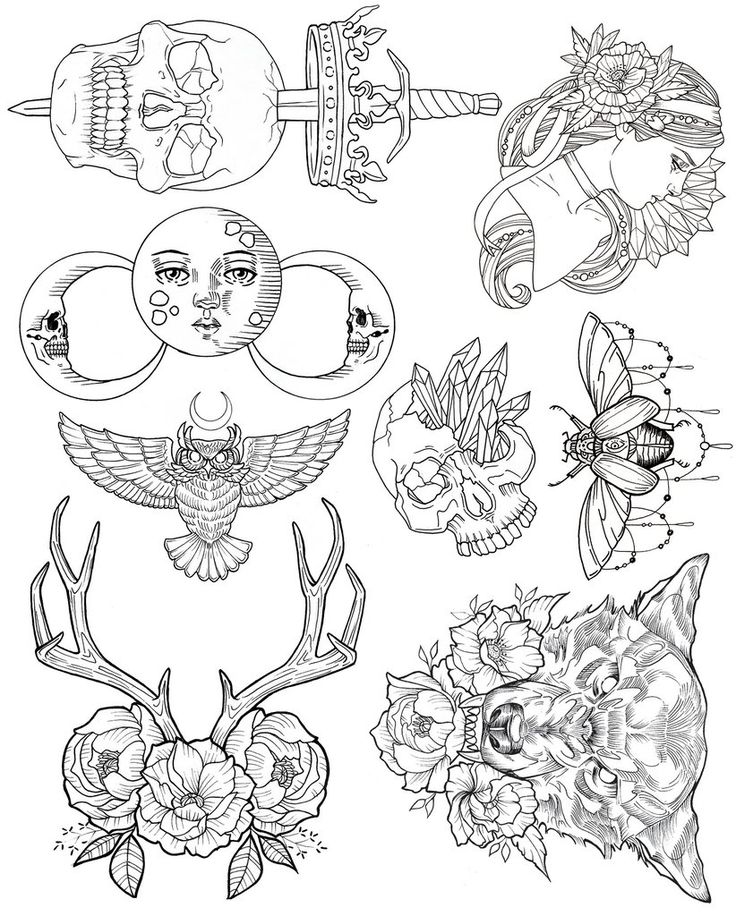 Best 25+ Tattoo Flash Ideas Only On Pinterest | Traditional Tattoo