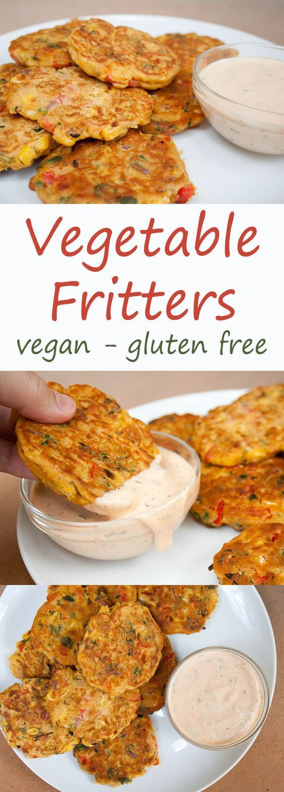 Vegetable Fritters - Create Mindfully
