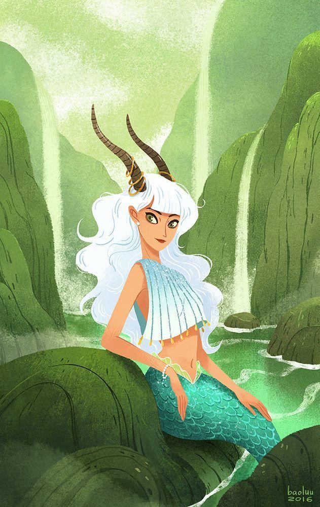 Lady Capricorn ~ the Sea Goat