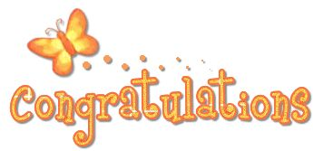 Congrats-Congratulation Glitters, Congrats Scraps, Images, Comments and Graphics for Orkut, Myspace