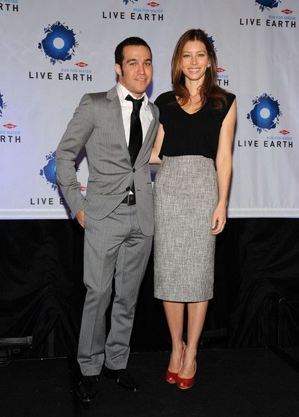 Jessica Biel Photos: Dow Live Earth Run For Water Press Conference