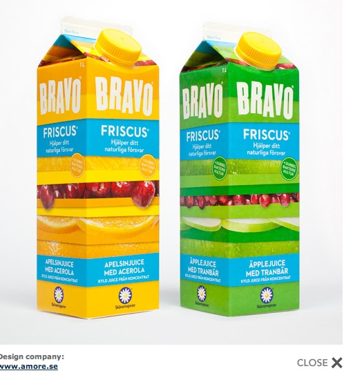 BRAVO packaging.  Love the layers IMPDO