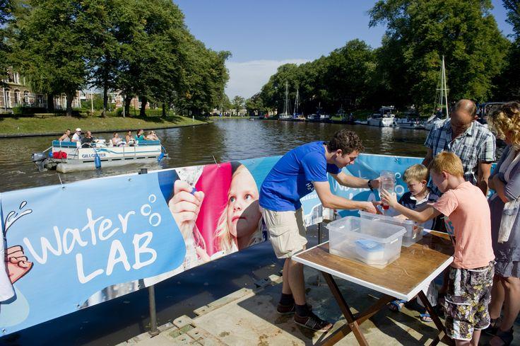 Waterlab van Wetsus voor Capital of Watertechnology Leeuwarden.