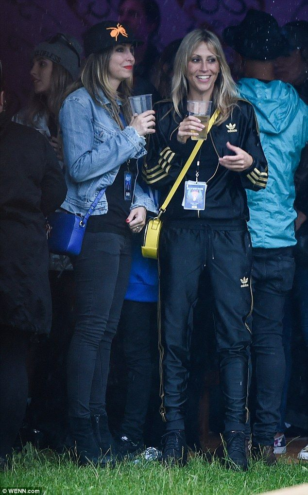 Soaking it all up: Nicole and Natalie Appleton enjoyed festival season from the sidelines ...