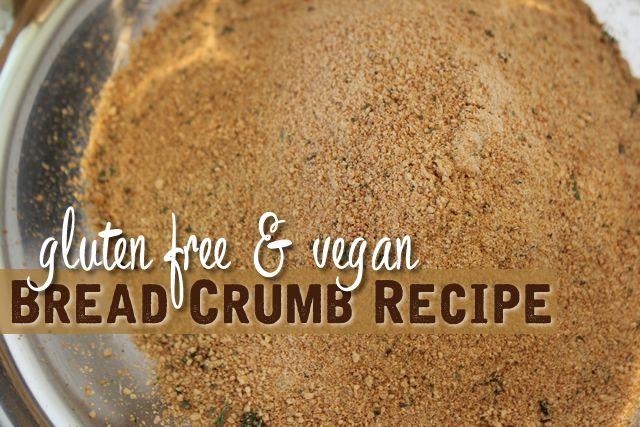 Gluten Free Breadcrumb Recipe Vegan