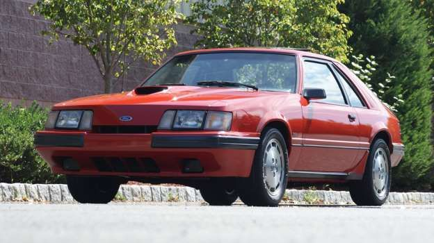 1986 Ford Mustang SVO Just Listed Front Three Quarters - Automobile Magazine Staff