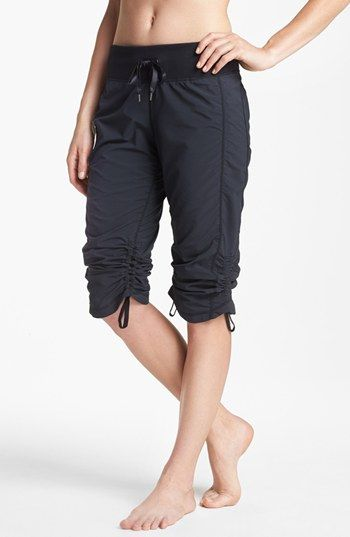 Scrunchy capri pants by Zella. Super cute and highly rated.