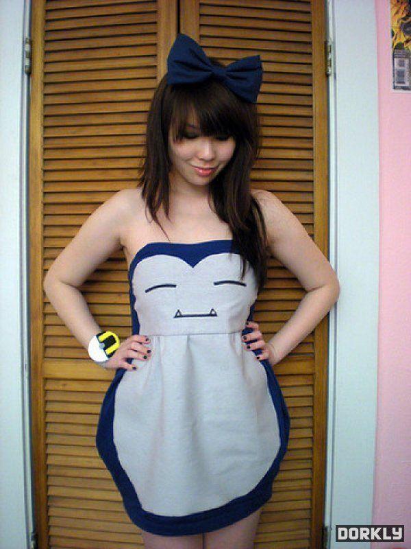 I want this dress!: Halloween Costume, Cosplay, Idea, Snorlax Dress, Pokemon, Style, Snorlaxdress, Dresses