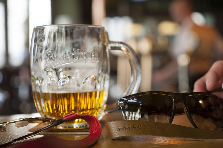 Czech beer and czech made leather straps for your sunglasses
