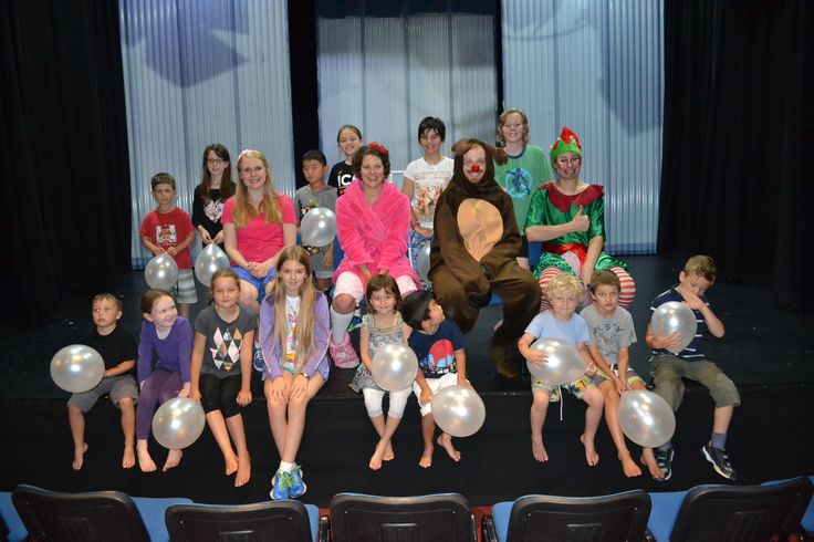 The Santa Claus show threatre workshop. December 2014.