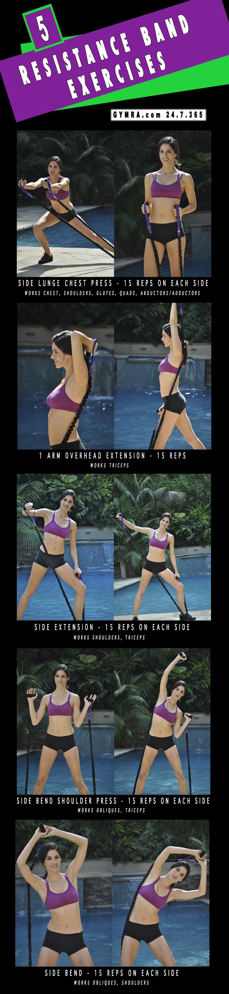 Total Body Resistance Band #Workout