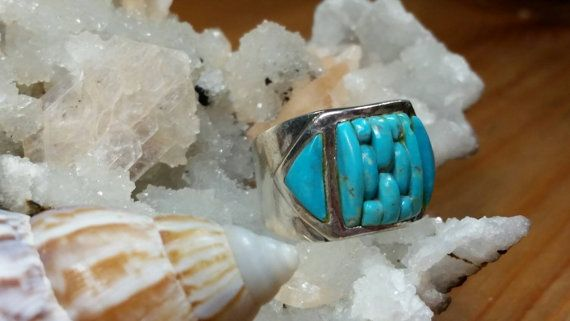 Hey, I found this really awesome Etsy listing at https://www.etsy.com/listing/236357164/multi-stone-turquoise-sterling-silver