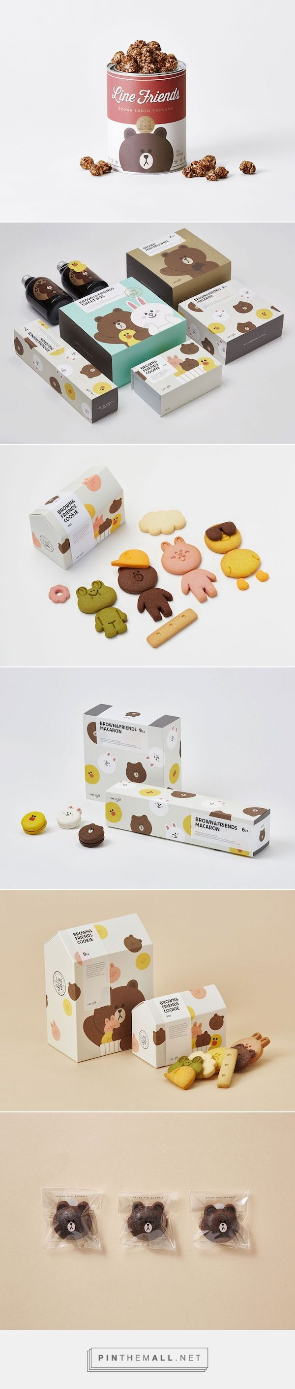 The Award-Winning Packaging Of LINE Café's Snacks via DesignTAXI.com curated by Packaging Diva PD. For the packaging smile file : )