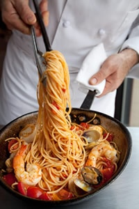 Delicioso Tuscan-Italian cuisine from Mia Francesca. All dishes are made from farm fresh ingredients!
