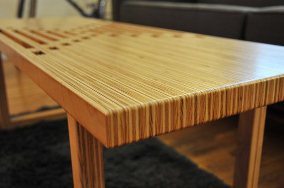 Handmade Birch Plywood Coffee Table / Bench in 2019 ...
