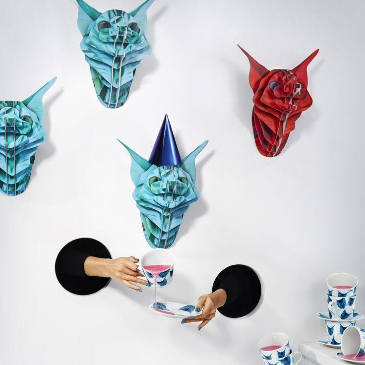 Il mondo della moda incontra quello dell'arredamento. #GILTIG #IKEAfashion #KatieEary