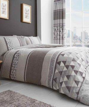 madison natural bedding set