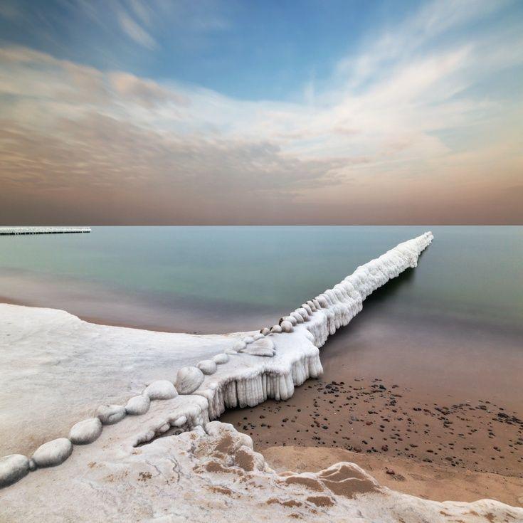 ARTFINDER: Breakwater by Dariusz Klimczak - Jarosławiec, Baltic Coast, Poland.  Canon EOS 5D Mk3, 24mm, f/22, ISO 100, 210 seconds, Hoya ProND 1000 filter.
