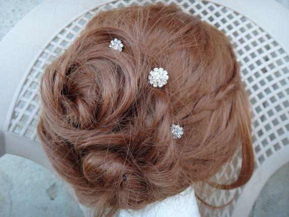 Strass épingle à cheveux épingle à cheveux de par DressMyWedding, $5.00