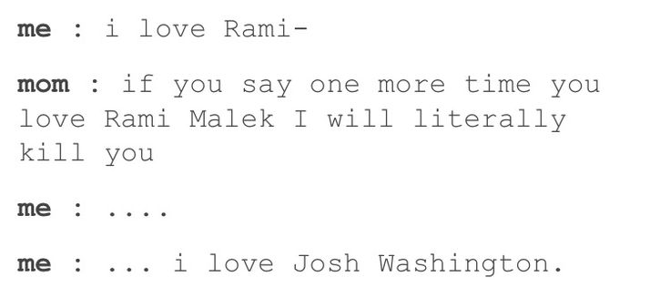 So true. Me on a daily basis. I love Rami Ma... I mean Josh Washington from Until Dawn...