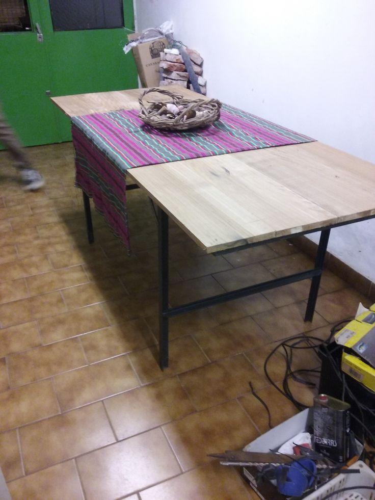 mesa hecha