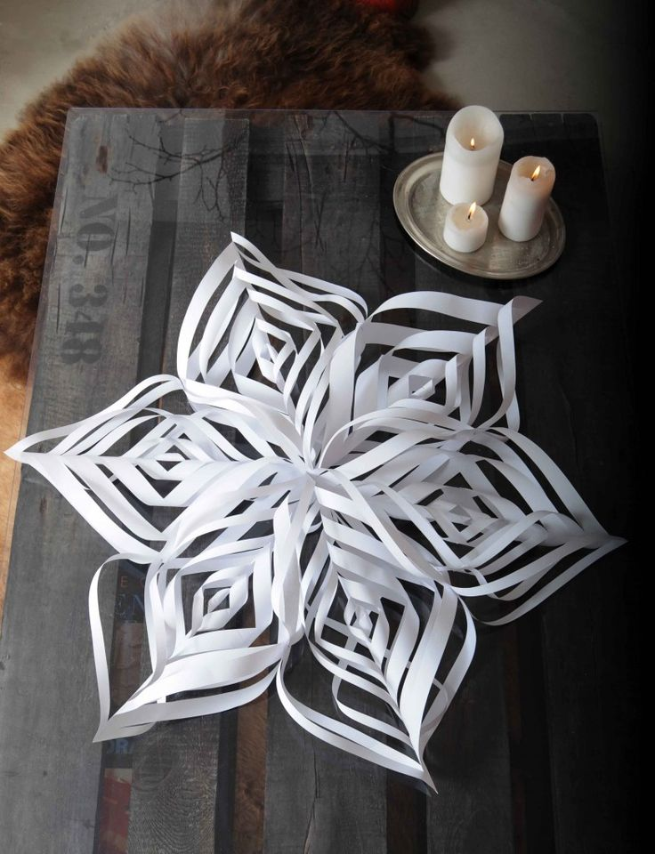 snowflake/star tutorial. so pretty!