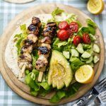 Chicken Shashlik Salad