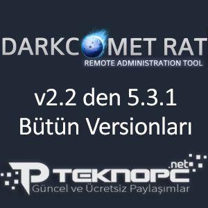 Darkcomet Rat Bütün Sürümleri Full İndir | TeknoPC - Güncel ve Ücretsiz Paylaşımlar