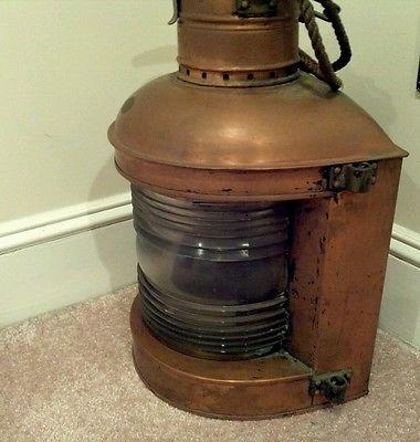 Antique Perkins Marine Ship S Lantern Ebay Lighting
