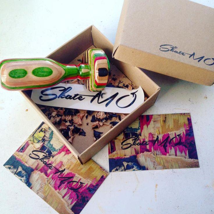 Custom skate stamps! 100% handmade by skateboard decks