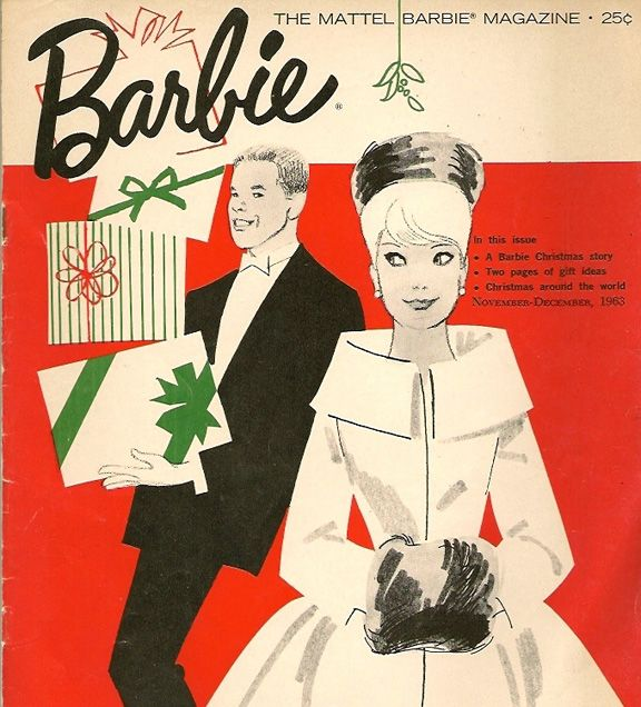I sometimes long for the way Christmas was when I was just a child... a vintage barbie christmas