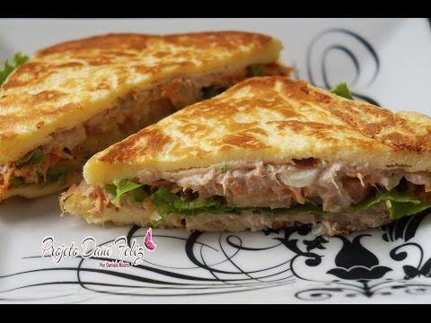 Dieta Dukan: Receita Sanduíche Natural de Atum - YouTube