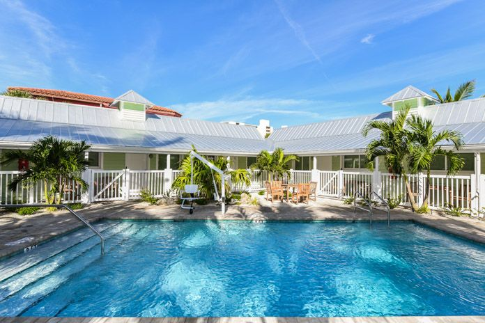 Siesta Key Beach Resort Pool Tropical Breeze Resorts