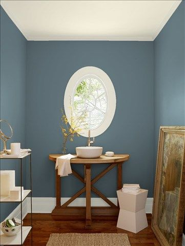 Look At The Paint Color Combination I Created With Benjamin Moore Via Wall Charlotte Slate Ac 24 Trim Wind S Breath Oc
