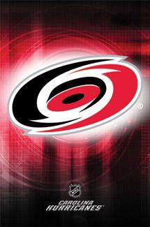Carolina Hurricanes Official NHL Team Logo Poster - Costacos