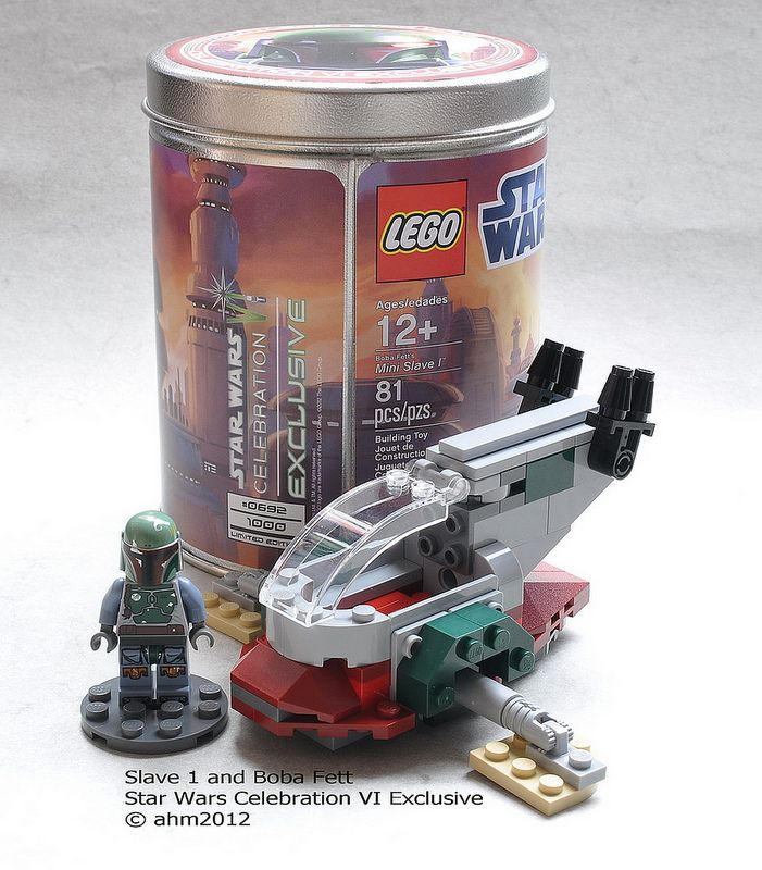 Star Wars Lego Celebration VI Slave 1 and Boba Fett   Flickr - Photo Sharing!