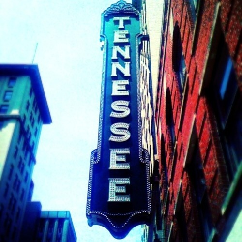 Tennessee Theater in Knoxville is a fabulous example of the regal theaters of old.