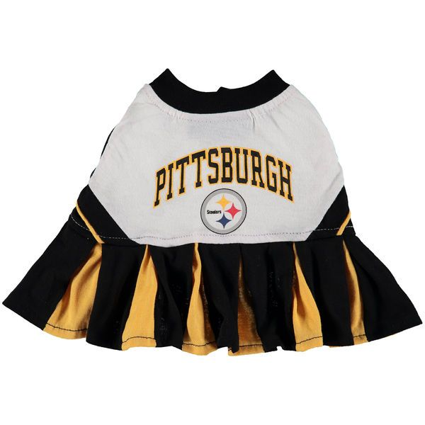 Pittsburgh Steelers Cheerleader Pet Outfit - $22.99