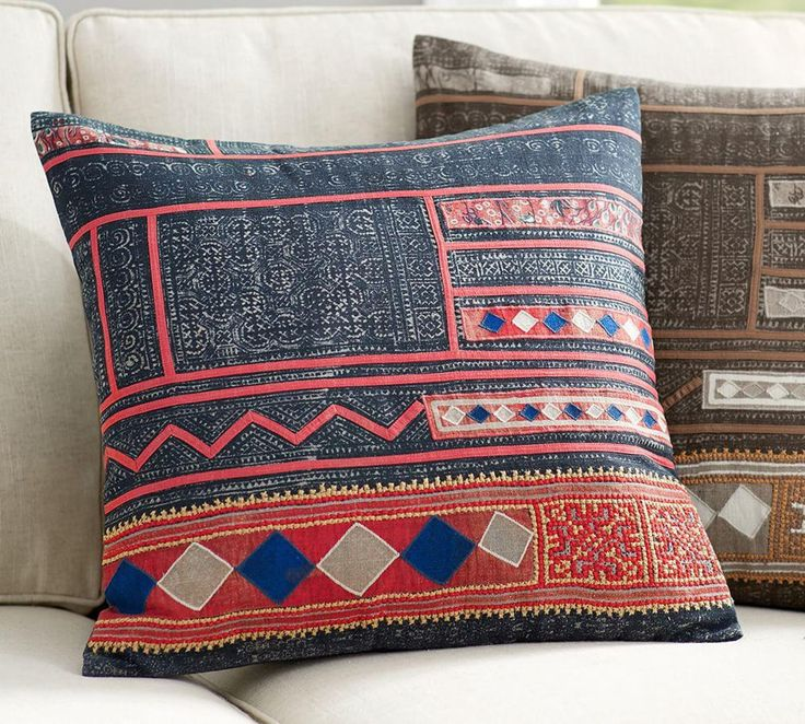 Eclectic Style Pillows : 36 best Cushion Love by Pottery Barn Australia images on Pinterest Pillow covers, Cushion ...
