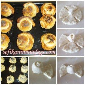 Gül Poğaça  #poğaça #poğaçatarifleri #hamur #hamurişi #food #recipes  http://sefikaninmutfagi.com/gul-pogaca/