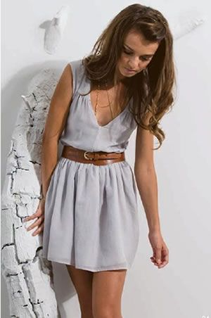 Love this dress for summer. So easy to mix and match everything with!!