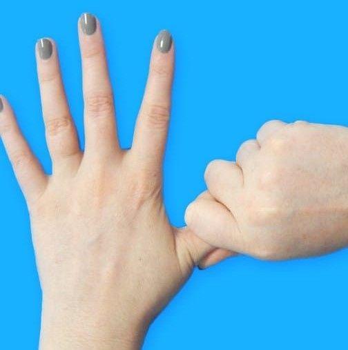 Хванете палеца си за 20 секунди – ще се удивите какво се случва...