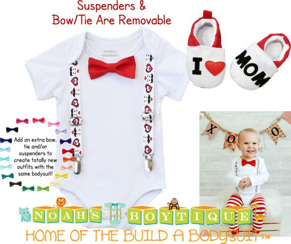 Baby Boy Valentines Day Outfit Valentineu0027s Day By NoahsBoytiques