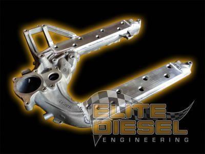 Elite Z-Max Ported Intake Manifold 03-07 6.0L Ford Powerstroke - Venom Diesel Performance